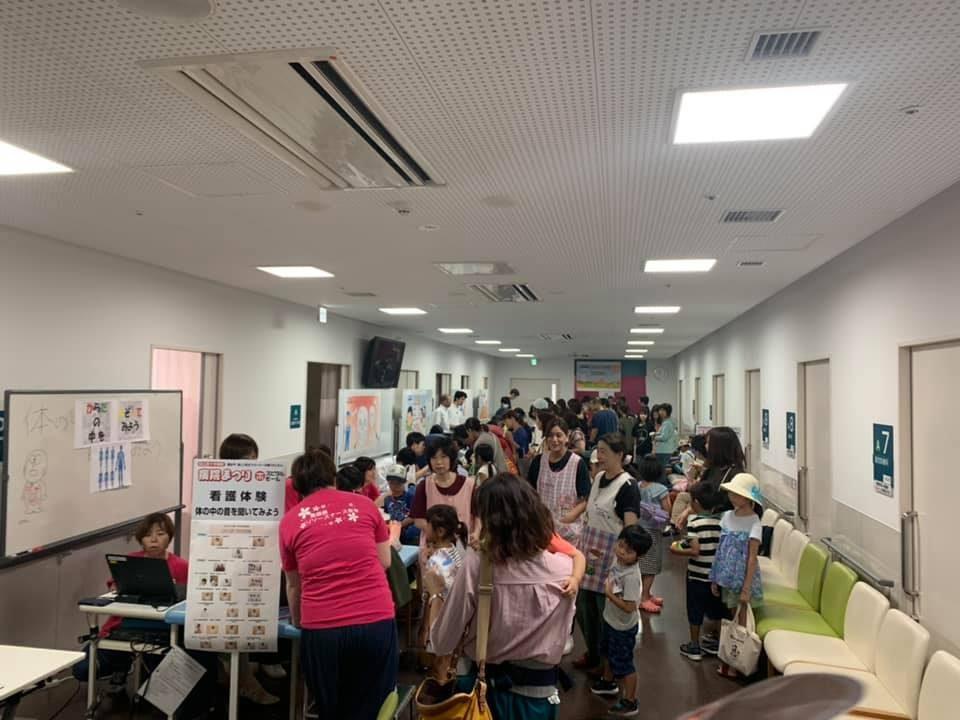 画像:松江赤十字病院 病院まつり